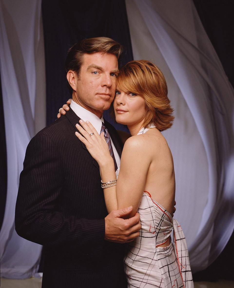 Peter Bergman with Michelle Stafford