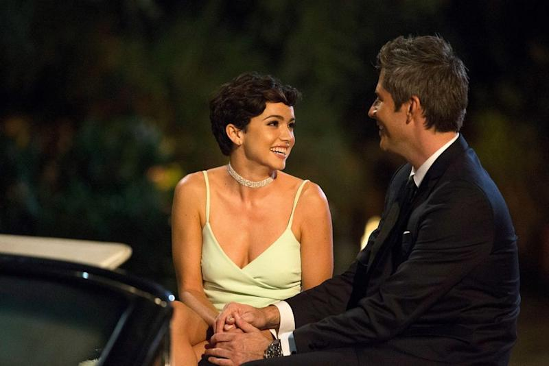 Bekah Martinez and Arie Luyendyk Jr.