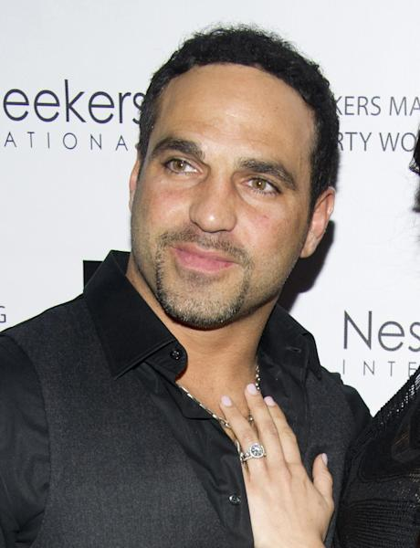 "FILE - This March 2, 2012 file photo shows Joe Gorga at the ""Million Dollar Listing New York"" Premiere, in New York. A Paramus man claims Jacqueline and Christopher Laurita and Giuseppe ""Joe"" Gorga attacked him as cameras rolled in a hair salon in Ridgewood on Saturday, March 30. John Karagiorgis filed a complaint, accusing the three of simple assault and making terroristic threats. The reality stars responded with their own complaints. (AP Photo/Charles Sykes, file)"