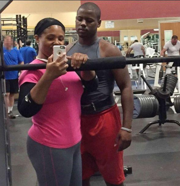 PHOTO: Brandee Johnson, 40, says she is able to exercise with her son Branden after losing 105 pounds. (Courtesy Brandee Johnson)
