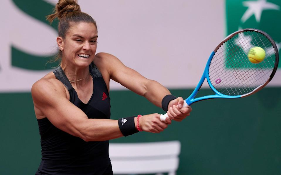 Sakkari in action - Getty Images