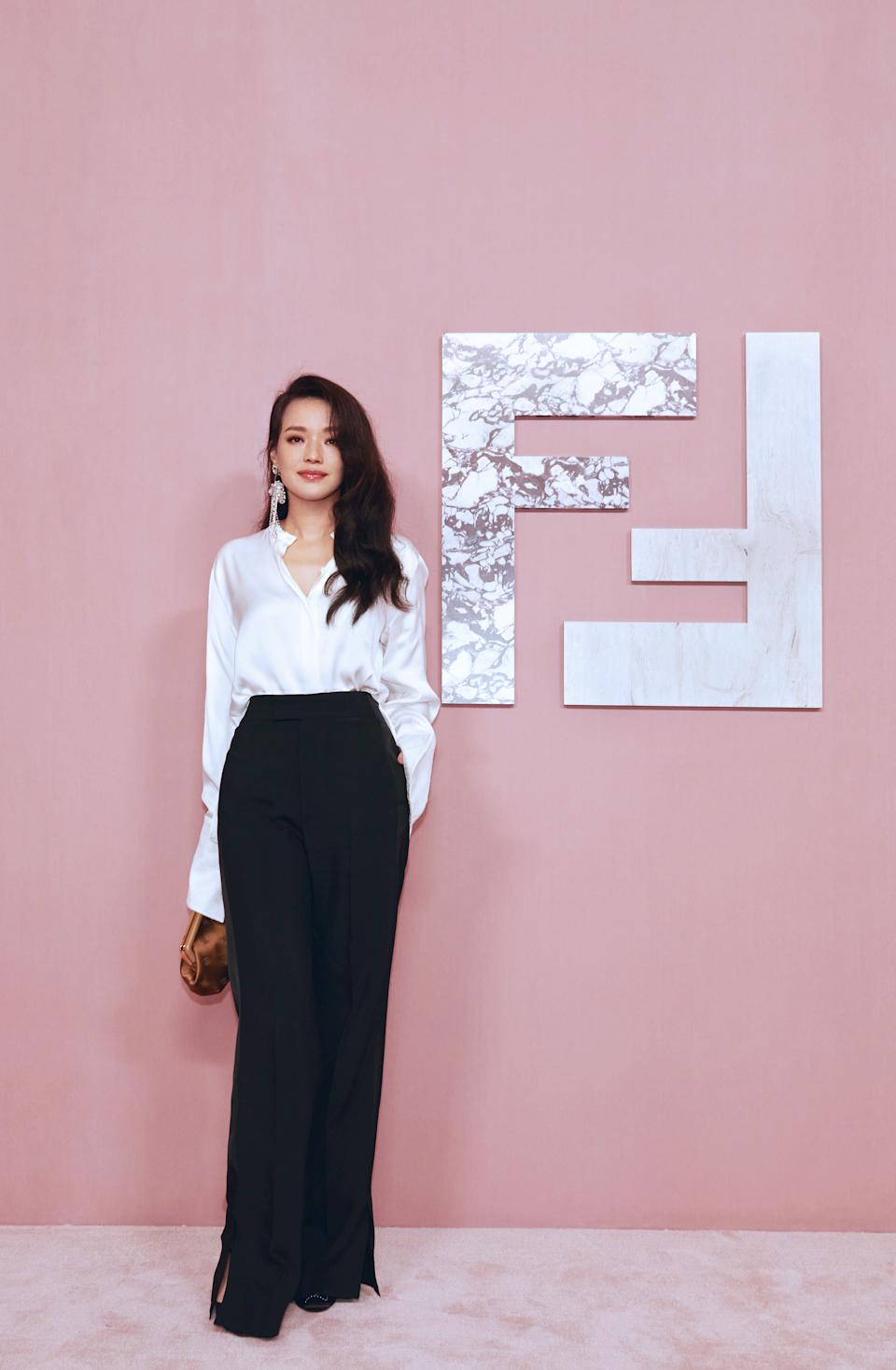 Actress Shu Qi at Fendi Shanghai show. (PHOTO: Fendi)