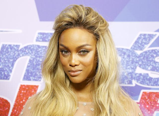 Supermodel Tyra Banks is sharing her smize knowledge with newcomers. (Photo: Getty Images)