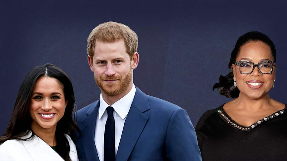 Oprah Winfrey to interview Meghan Markle and Prince Harry