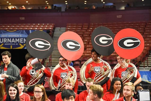 <p><strong>13. Georgia<br></strong>Top 2017-18 sports: women's indoor track and field, men's track and field (national champions). Trajectory: Up. This was a breakthrough year for the Bulldogs, recording their highest overall finish since 2005. The nascent track power was also helped by the football team's national runner-up season. </p>