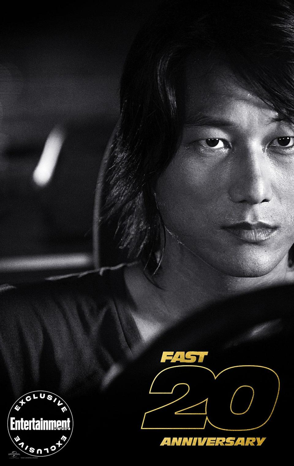 """<p>""""It's just Han,"""" <a href=""""https://ew.com/movies/f9-sung-kang-justin-lin-han-interview/"""" rel=""""nofollow noopener"""" target=""""_blank"""" data-ylk=""""slk:director Justin Lin recently told EW"""" class=""""link rapid-noclick-resp"""">director Justin Lin recently told EW</a>, clarifying the name of the beloved character that <a href=""""https://ew.com/tag/sung-kang/"""" rel=""""nofollow noopener"""" target=""""_blank"""" data-ylk=""""slk:Sung Kang"""" class=""""link rapid-noclick-resp"""">Sung Kang</a> first originated in the duo's low-budget drama <em>Better Luck Tomorrow</em>. Since then, the actor has appeared in five <em>Fast</em> films, bringing Han back from the dead two different times, most recently thanks to the """"justice for Han"""" campaign. """"There's something deeper behind 'justice for Han' than just bringing a character back,"""" <a href=""""https://ew.com/movies/f9-sung-kang-justin-lin-han-interview/"""" rel=""""nofollow noopener"""" target=""""_blank"""" data-ylk=""""slk:Kang told EW"""" class=""""link rapid-noclick-resp"""">Kang told EW</a>. """"That's a gimmick. What I eventually connected with was that this campaign was started because there was some feeling that just didn't sit right in your stomach, right? This guy, Han, happens to be your boy, your friend, your buddy, your older brother, part of the family. And even within Hollywood make-believe, when you discard a character and that history is eliminated, there's something wrong with that.""""</p>"""