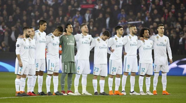 """<p>Real Madrid travels to Eibar on Saturday for a La Liga match, looking to build on the momentum from a mid-week win over PSG. </p><p>Los Blancos won 2–1 in Paris on Tuesday to take the two-legged Champions League series 5–2 and advance to the quarterfinals. With Barcelona running away with the La Liga race and Real having been eliminated from the Copa del Rey, the Champions League is Madrid's best chance at winning some silver this year. </p><p>Real is currently third in La Liga, seven points behind Atletico Madrid and 15 points behind undefeated Barca. </p><p>Eibar is eighth in the league table, two points out of Europa League qualification position. </p><h3>How to watch</h3><p><strong>Time</strong>: 7 a.m. ET</p><p><strong>TV</strong>: beIN Sports</p><p><strong>Live Stream</strong>: You can watch the match live via FuboTV. <a href=""""https://www.fubo.tv/lp/planet-futbol/"""" rel=""""nofollow noopener"""" target=""""_blank"""" data-ylk=""""slk:Sign up here for a free seven-day trial"""" class=""""link rapid-noclick-resp"""">Sign up here for a free seven-day trial</a>.</p>"""