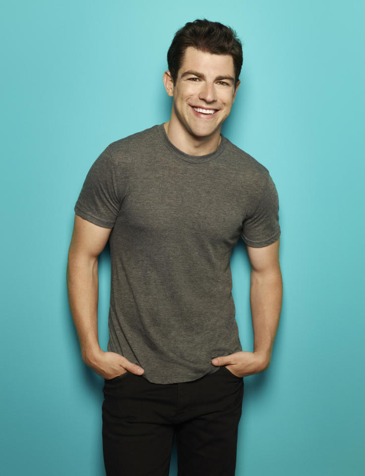 """Supporting Actor in a Comedy Series: Max Greenfield, """"New Girl"""""""