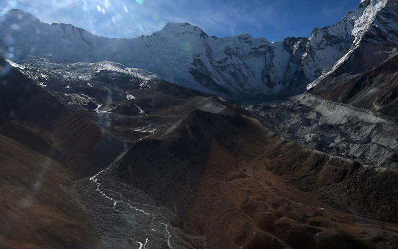 The Hindu Kush Himalaya holds more ice than anywhere outside the two poles - AFP