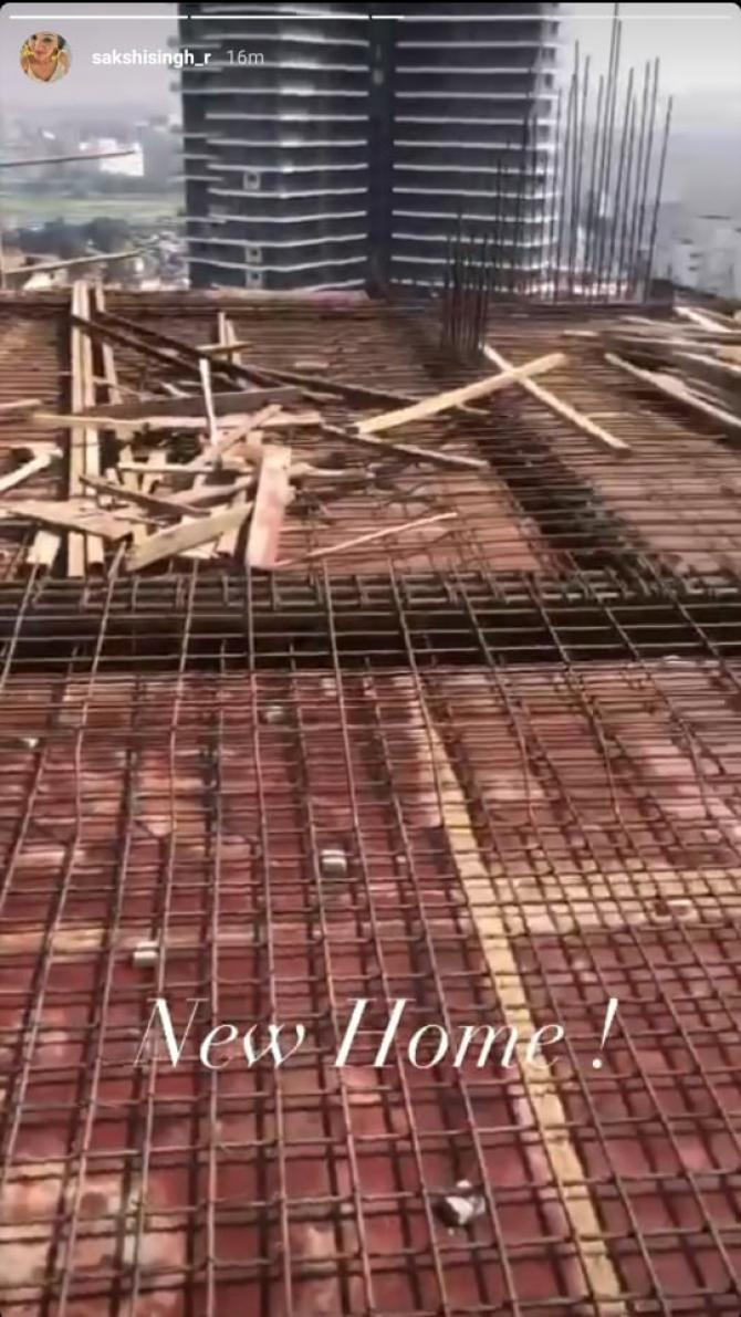 MS Dhoni's Under-Construction House in Mumbai