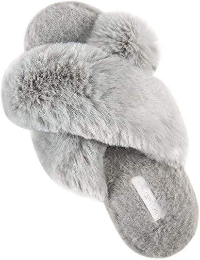 <p>These <span>Halluci Soft Plush Slippers</span> ($24) feel like clouds for your feet.</p>