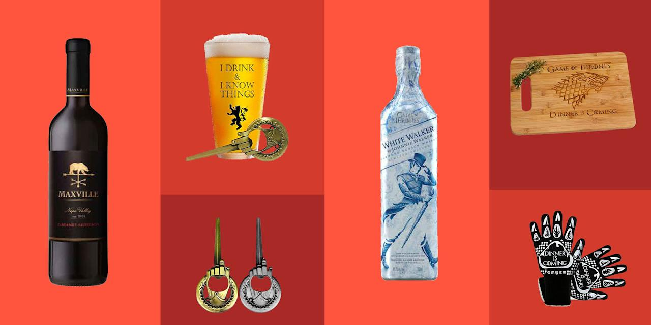 <p>By my estimation, there are no half-way <em>Game of Thrones </em>fans. People either LOVE it, or don't watch it. And those who love it tend to be obsessed. The next time you're shopping for one of these dragon slaying pals, consult this list for the coolest drinks, glasses, and more that'll remind them of their love for GOT (and you) on the daily.<em></em></p>