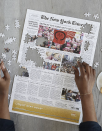 """$50, Uncommon Goods. <a href=""""https://www.uncommongoods.com/product/new-york-times-custom-front-page-puzzle"""" rel=""""nofollow noopener"""" target=""""_blank"""" data-ylk=""""slk:Get it now!"""" class=""""link rapid-noclick-resp"""">Get it now!</a>"""