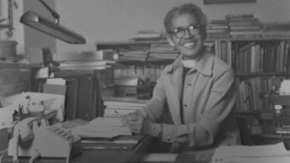 """Pauli Murray, an attorney, activist, priest and poet who grew up in Durham, North Carolina, is the focus of a new documentary, """"My Name is Pauli Murray."""" She is pictured here in 1979."""