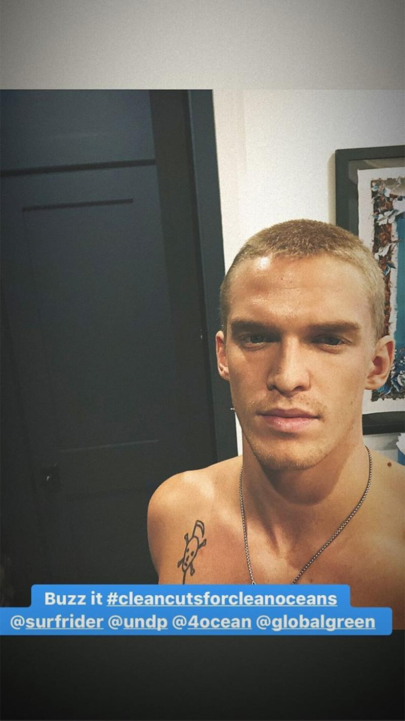 Miley Cyrus Shaves Cody Simpson's Head During Self-Isolation After ...