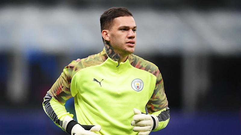 Ederson in doubt for Liverpool meeting as Man City goalkeeper replaced at half-time in Atalanta clash