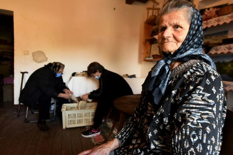 Most of the women working to preserve traditional Croatian handicrafts in the Tara association are older, raising fears the skills will die out