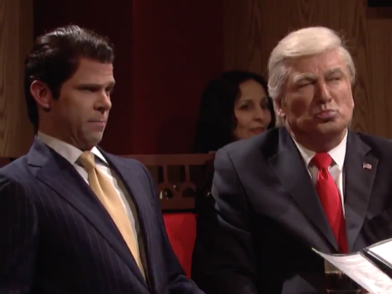 Snl donald trump gets the sopranos treatment in season finale tonights season finale of saturday night live started in the familiar holstens restaurant in bloomfield nj the location of the series finale of the m4hsunfo