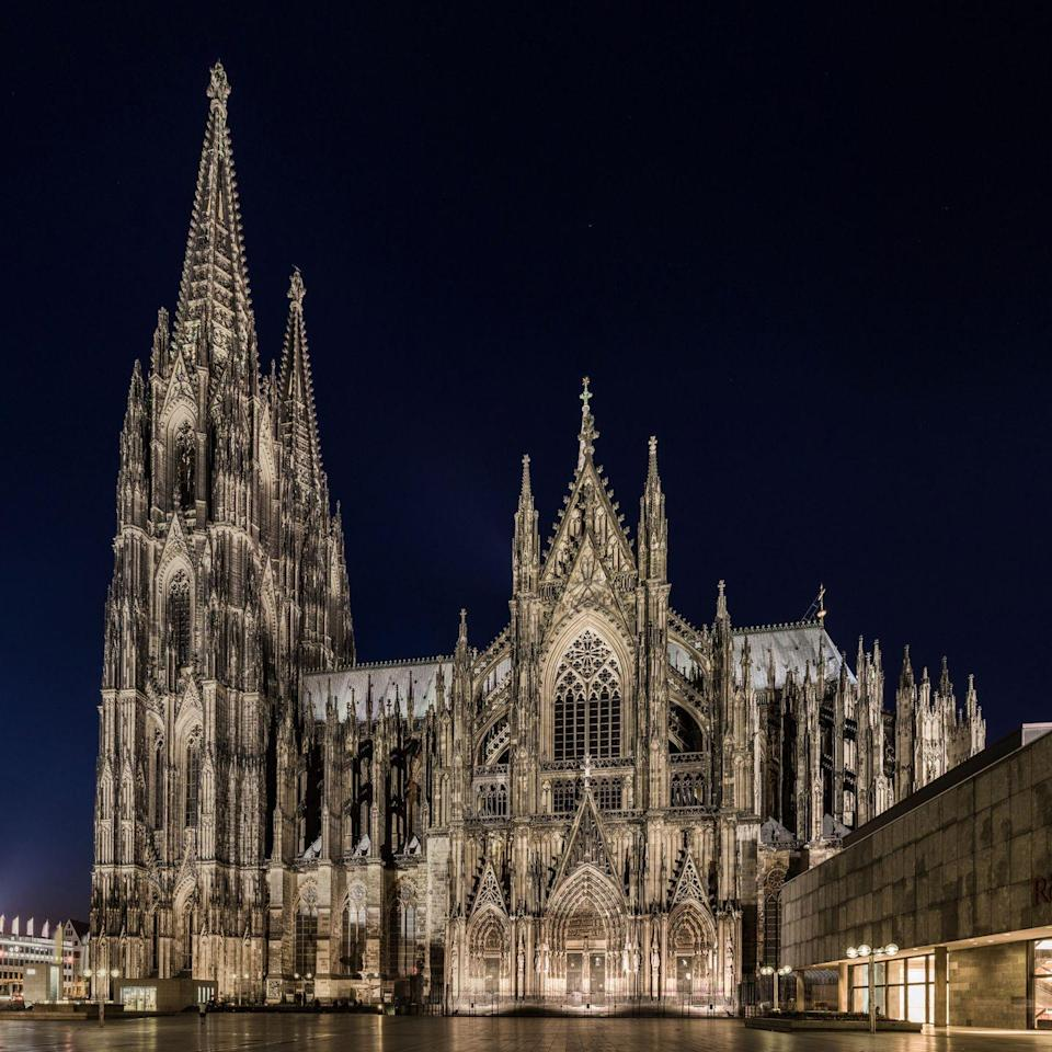 """<p>This High Gothic masterpiece took more than 600 years to construct, beginning in 1248, and bears witness to the endurance of Christianity in Europe. According to UNESCO, """"No other Cathedral is so perfectly conceived, so uniformly and uncompromisingly executed in all its parts."""" Cologne Cathedral is described as marking the pinnacle of cathedral architecture, making it one of the most popular landmarks in Germany. </p>"""