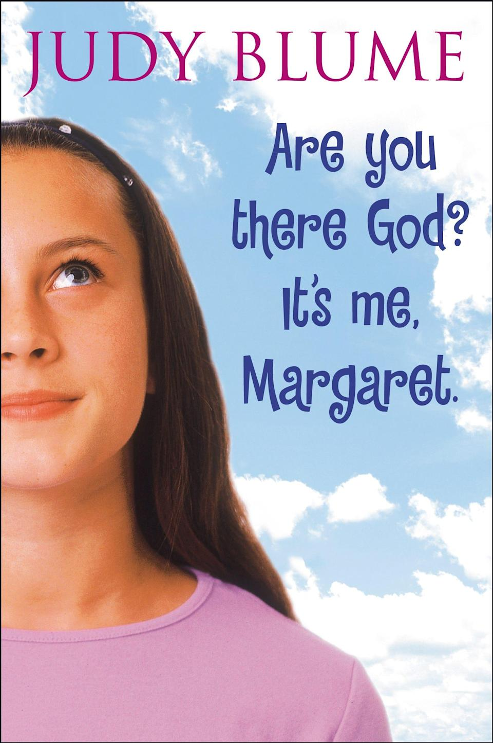 """""""Are You There God? It's Me, Margaret,"""" by Judy Blume"""