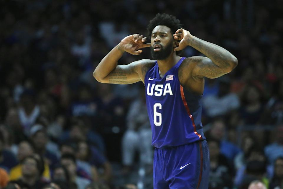 DeAndre Jordan was among a group of Team USA players who reportedly