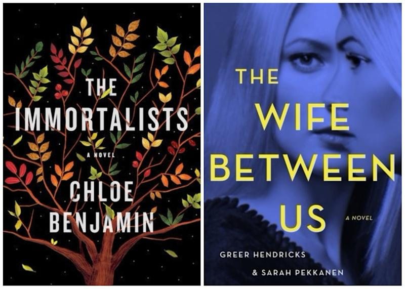"""The Immortalists,"" ""The Wife Between Us,"" and other books coming out this week"