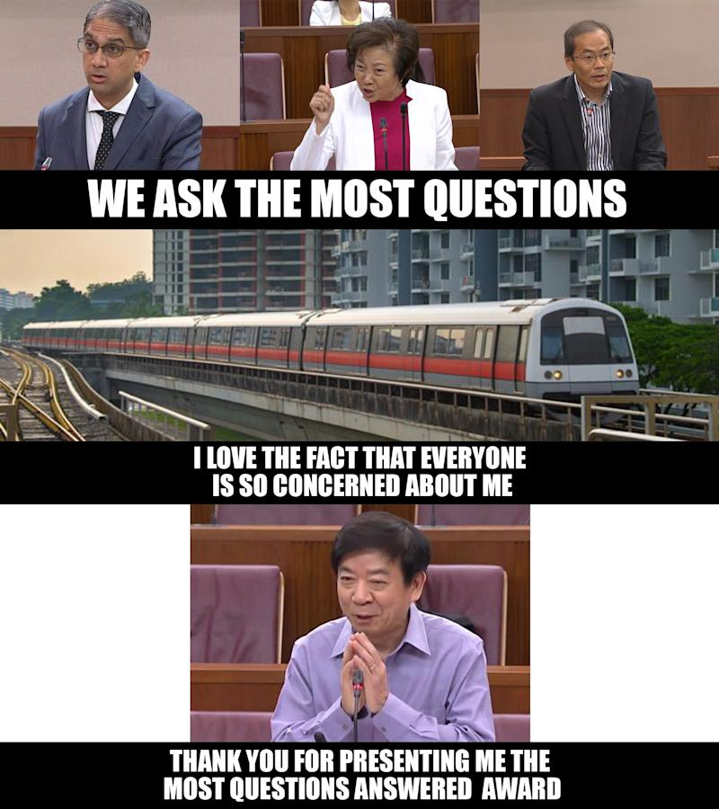 MPs with questions meme: Hoo Yi