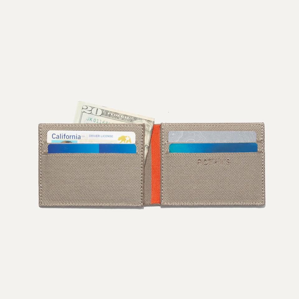 rothys new wallet open