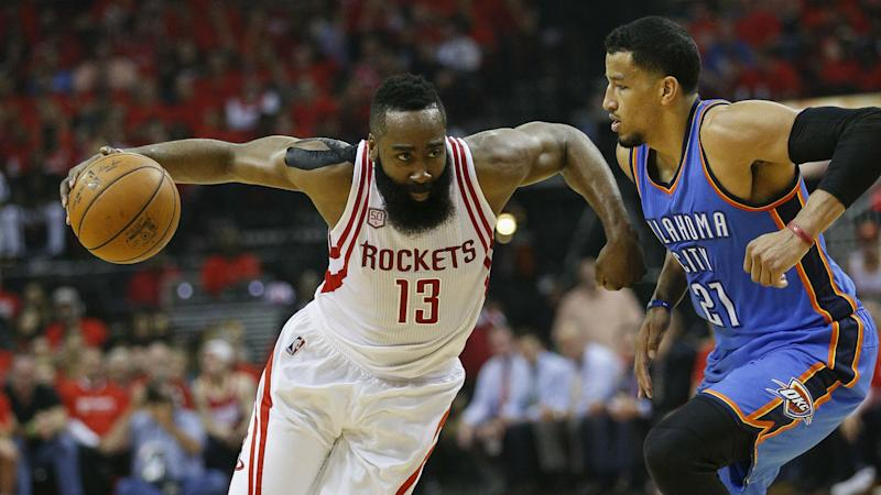 Andre Roberson's fingerprints all over end of Thunder's win over Rockets