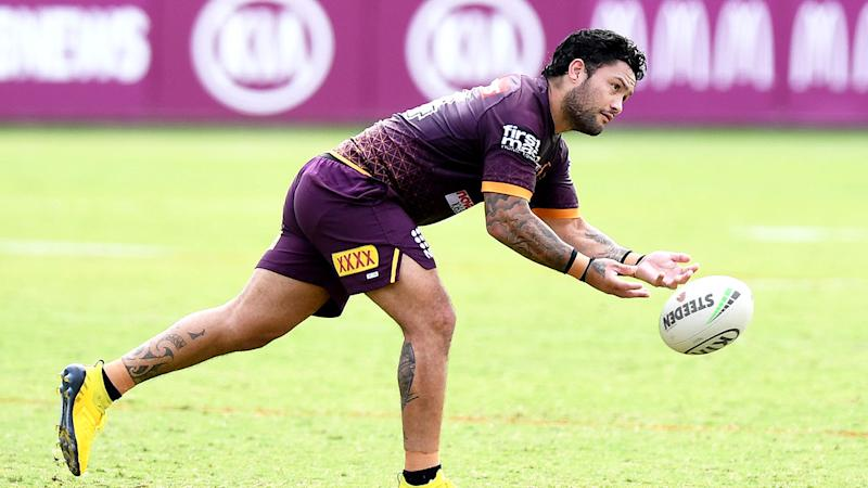 Pictured here, Kiwi veteran Isaac Luke has signed with Brisbane after being released by the Dragons.
