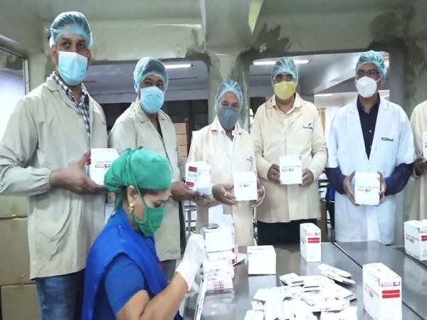 Workers at McW Healthcare Company (Photo/ANI)