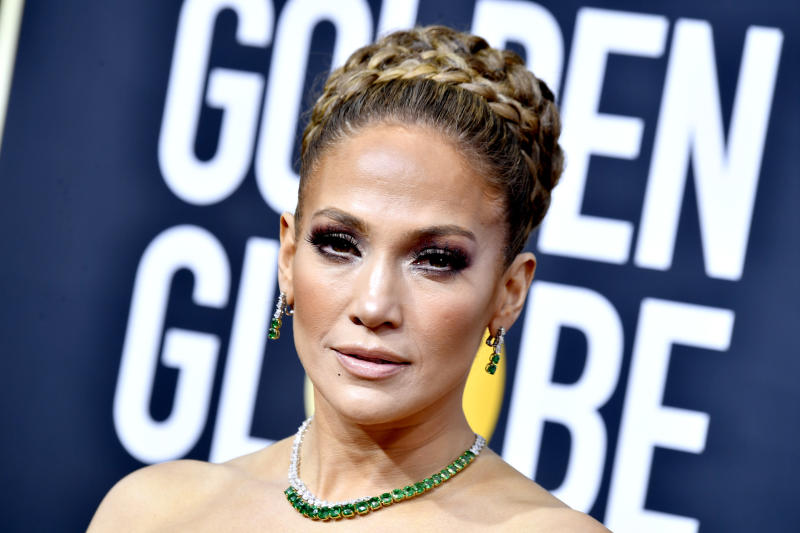 BEVERLY HILLS, CALIFORNIA - JANUARY 05: Jennifer Lopez attends the 77th Annual Golden Globe Awards at The Beverly Hilton Hotel on January 05, 2020 in Beverly Hills, California. (Photo by Frazer Harrison/Getty Images)