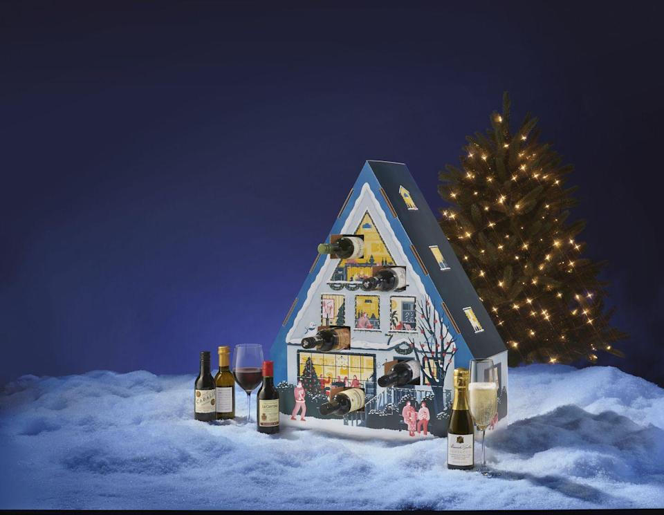 """<p><a class=""""link rapid-noclick-resp"""" href=""""https://go.redirectingat.com?id=74968X1596630&url=https%3A%2F%2Fwww.wsjwine.com%2Fadvent&sref=https%3A%2F%2Fwww.townandcountrymag.com%2Fleisure%2Fdrinks%2Fg12775238%2Falcohol-advent-calendars%2F"""" rel=""""nofollow noopener"""" target=""""_blank"""" data-ylk=""""slk:SHOP NOW"""">SHOP NOW</a></p><p><strong>$139.99</strong></p><p><strong>wsjwine.com</strong></p><p><strong>Best for:</strong> The oenophile who wants to broaden their palate.</p><p><strong>What's inside: </strong>24 quarter-bottles of some of the world's most-loved varieties like a stand-out 2018 Bordeaux, a vibrant Pinot Grigio, bubbly Prosecco, and rich Cabernet Sauvignon, among many more.</p>"""