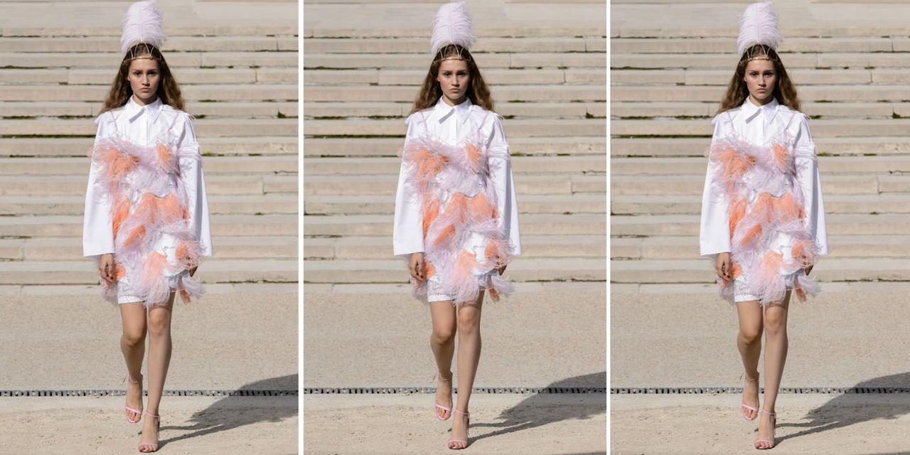 <p>From classic Tory Burch, to modern Victoria Beckham, these are the prettiest dresses to walk the runway at New York Fashion Week, London Fashion Week, Paris And Milan.</p>