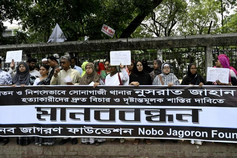 The killing of Nusrat Jahan Rafi last month sparked protests across the South Asian nation