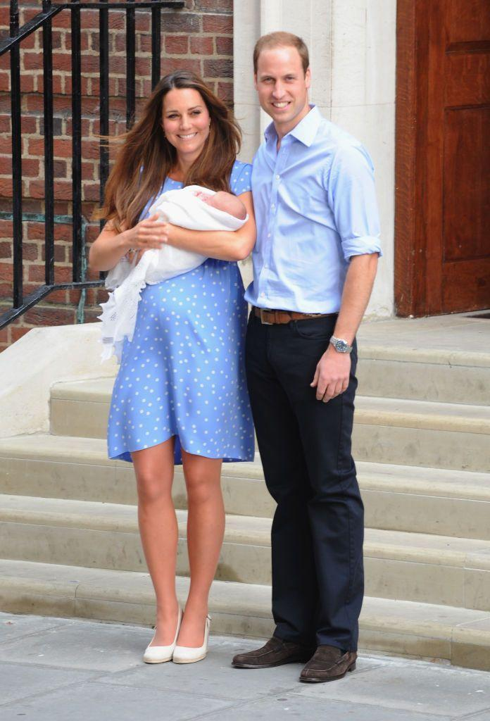 <p>The Duke and Duchess of Cambridge welcomed their first child, George on July 23 2013.</p>