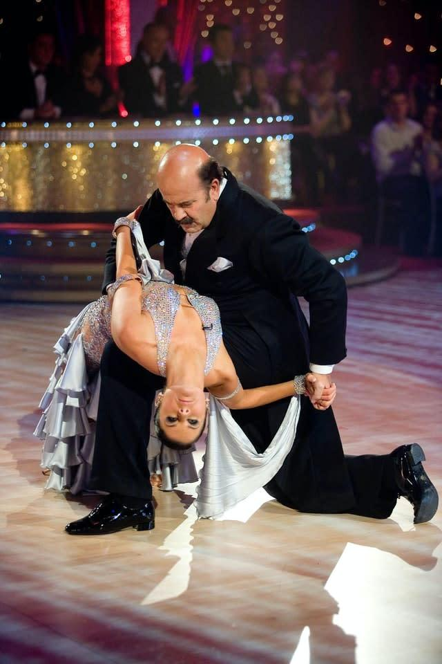 Willie Thorne made an unlikely appearance on Strictly Come Dancing (PA)