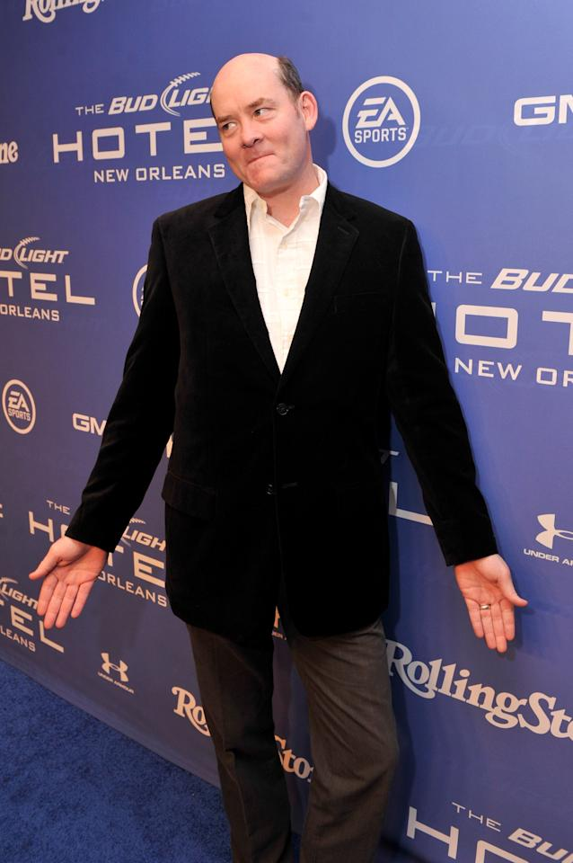 NEW ORLEANS, LA - FEBRUARY 02:  Actor/comedian David Koechner attends Bud Light Presents Stevie Wonder and Gary Clark Jr. at the Bud Light Hotel on February 2, 2013 in New Orleans, Louisiana.  (Photo by Stephen Lovekin/Getty Images for Bud Light)