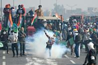 The protests turned ugly during a rally in the capital on January 26 that left dozens injured