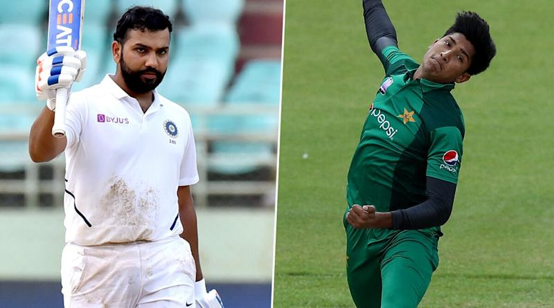 Cricket Week Recap: From Rohit Sharma Scoring Twin Centuries in Opening Test Debut to Mohammad Hasnain Becoming Youngest to Take Hat-Trick in T20Is, A Look at Finest Individual Performances