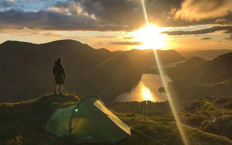 Instagram is driving a huge interest in wild camping, experts say