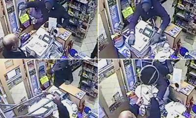 Video: Shopkeeper Fights Off Knife Robber