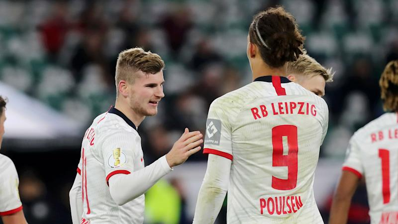 Werner's future is up to him, says RB Leipzig team-mate Poulsen
