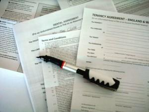 Tenancy papers