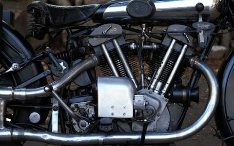 1929 Brough Superior SS 100 owned by TE Lawrence aka Lawrence of Arabia - Credit: MIKE LEWIS