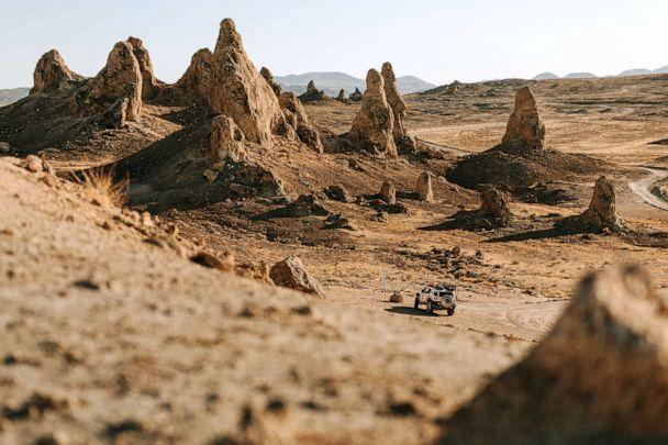 PHOTO: 36 teams will compete in the 2020 Rebelle Rally, a challenging, off-roading course that spans 1,200 miles. (Richard Giordano via Rebelle Rally)