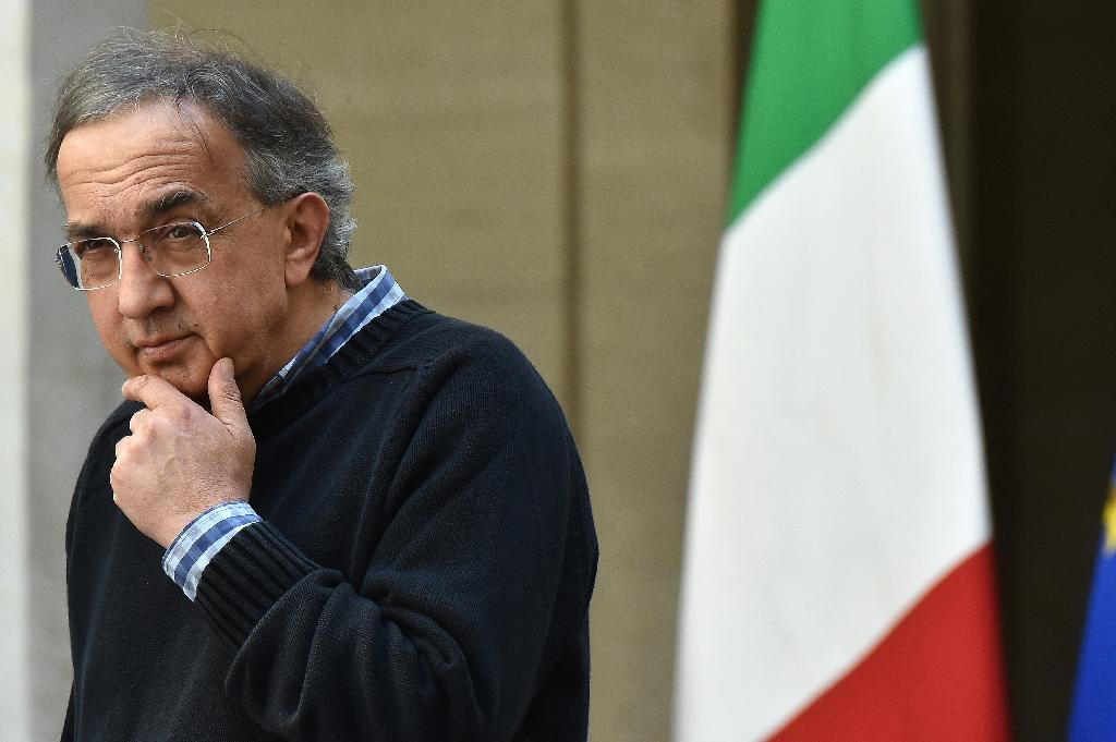 Fiat Chrysler Automobiles CEO Sergio Marchionne, pictured on May 5, 2016, said the company is cooperating with authorities from the Securities and Exchange Commission and the Justice Department probing the company's reporting (AFP Photo/Alberto Pizzoli)