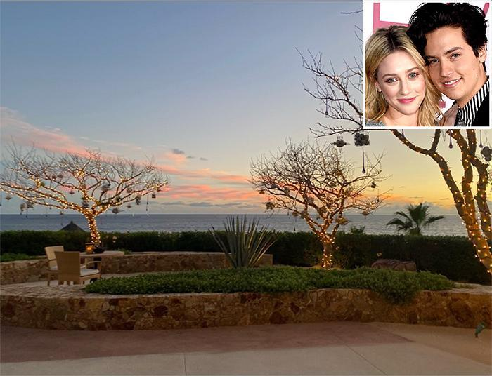 <p><strong>Location:</strong> Los Cabos, Mexico</p> <p><em>Riverdale</em> co-stars Lili Reinhart and Cole Sprouse jetted off to this luxurious retreat in Mexico for a post-Christmas vacation. The stars — who were dating at the time — mostly kept to themselves, enjoying their room's private plunge pool, but also ventured out to the hotel's main pool and off site for dinner, according to a hotel representative.</p>