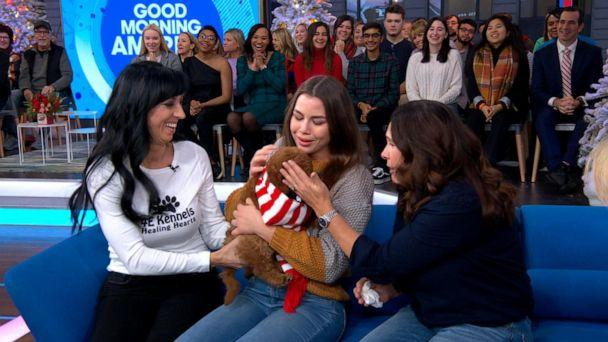 VIDEO: Teen living with diabetes surprised with puppy for Christmas (ABCNews.com)