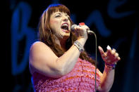 Candye Kane was a California blues/swing/roots-rock artist who released a dozen critically acclaimed albums. She died on May 6 after an eight-year battle with pancreatic neuroendocrine cancer. She was 54. (Photo: Getty Images)